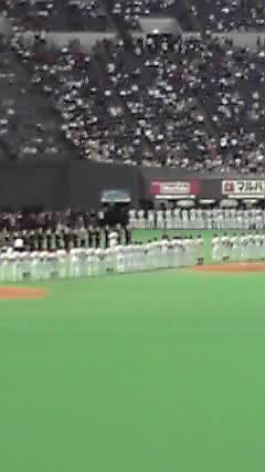 日本シリーズ 北海道日本ハム(札幌)○2-0 三度目の正直