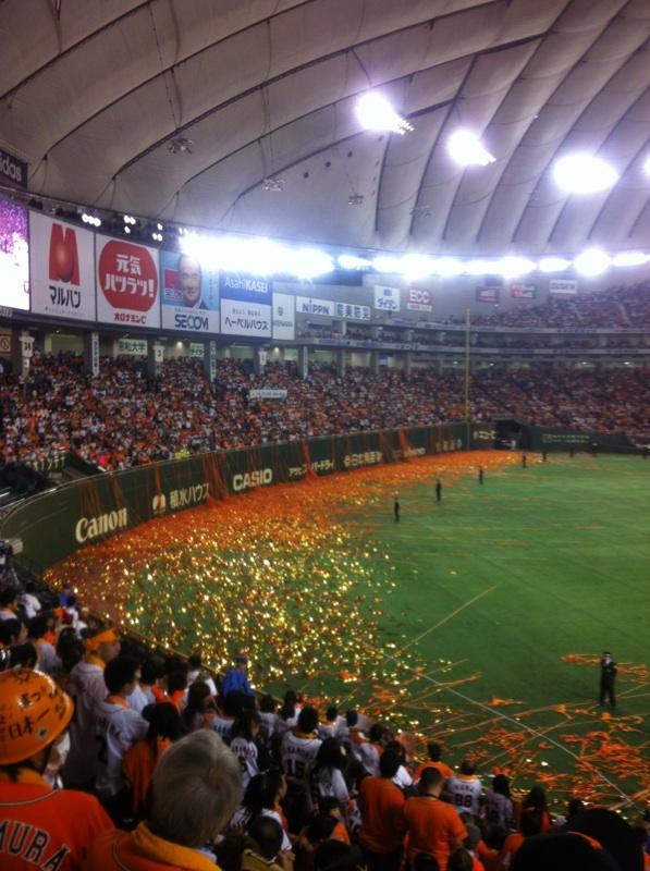日本シリーズ2012 北海道日本ハム(東京)◯4-3 橙魂2012 完結