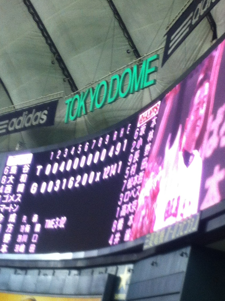 阪神(東京)○12-4 野球は面白い